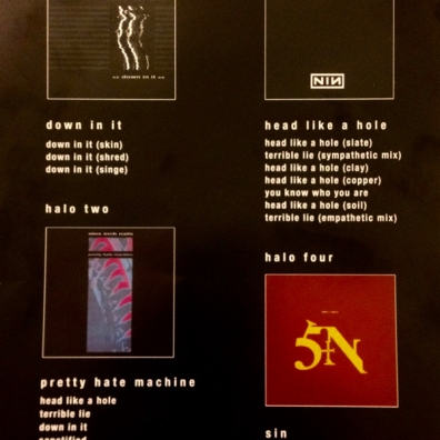 Nine Inch Nails (Найн Инч Найлс): Halo I-IV
