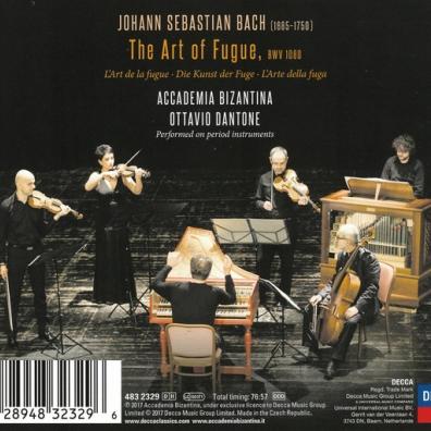Accademia Bizantina (Византийская Академия): Bach: The Art of Fugue