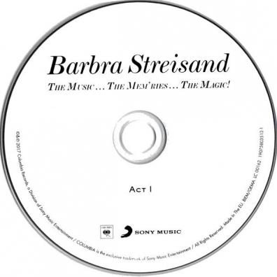 Barbra Streisand (Барбра Стрейзанд): The Music…The Mem'ries…The Magic!