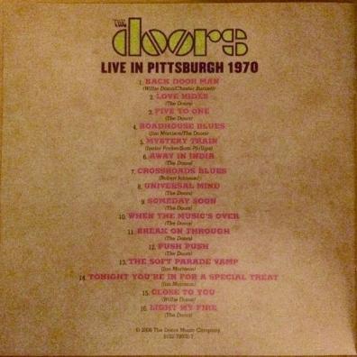 The Doors (Зе Дорс): Live In Pittsburgh 1970