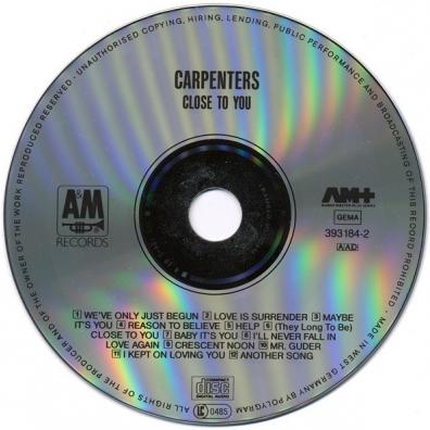 The Carpenters: Close To You