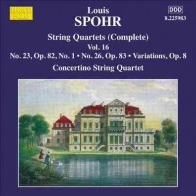Moscow Philharmonic Concertino String Quartet (Струнный квартет Концертино Московской филармонии): String Quartets Vol. 16