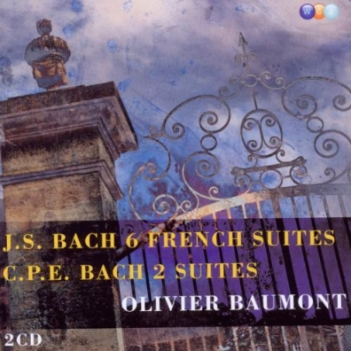 Olivier Baumont (Оливер Баумонт): Bach, JS: 6 French Suites & Bach, CPE: 2 Suites