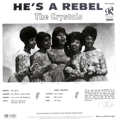 The Crystals (Кристалз): He's A Rebel
