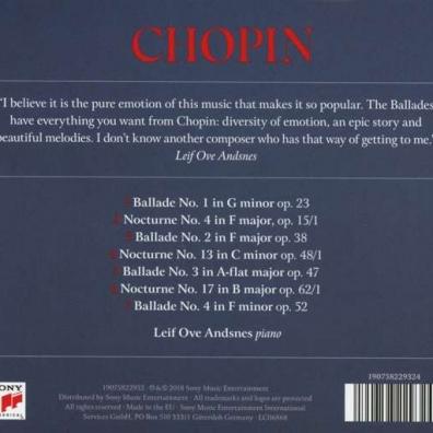Frederik Chopin (Фредерик Шопен): Ballades & 3 Nocturnes