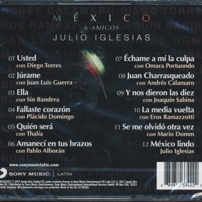 Julio Iglesias (Хулио Иглесиас): Mexico & Amigos