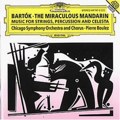 Pierre Boulez (Пьер Булез): Bartok: The Miraculous Mandarin