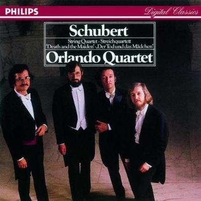 """Orlando Quartet (Орландо Квартет): Schubert: String Quartet """"Death And The Maiden"""""""