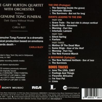 Gary Burton (Гэри Бёртон): A Genuine Tong Funeral