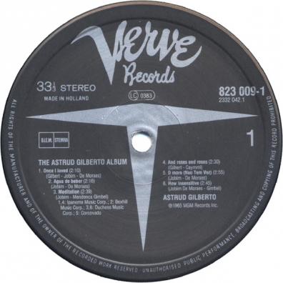 Astrud Gilberto (Аструд Жилберту): The Astrud Gilberto Album