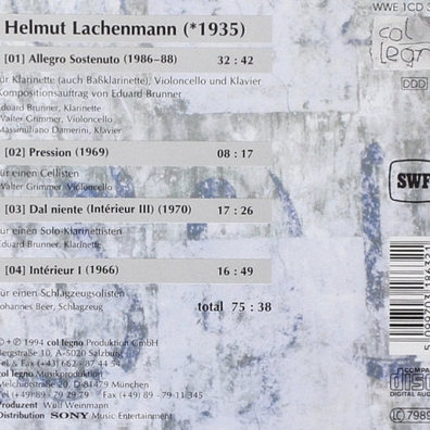 Helmut Lachenmann (Хельмут Лахенман): Allegro Sostenuto