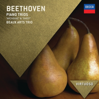 """Beaux Arts Trio: Beethoven: Piano Trios - """"Archduke"""" & """"Ghost"""""""