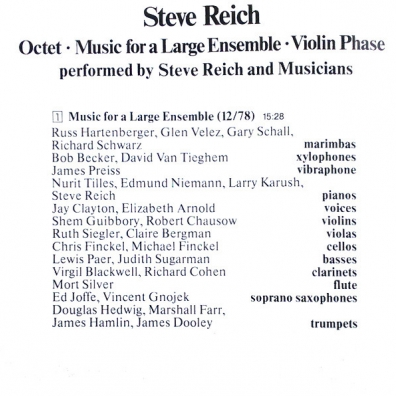 Octet: Music For A Large Ensemble