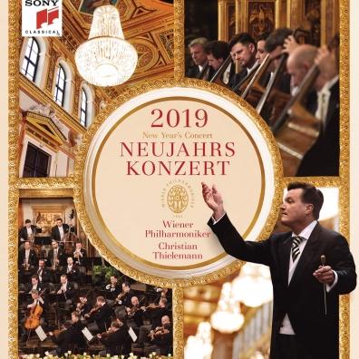 Christian Thielemann (Кристиан Тилеманн): New Year'S Concert 2019 / Neujahrskonzert 2019 / Concert Du Nouvel An 2019