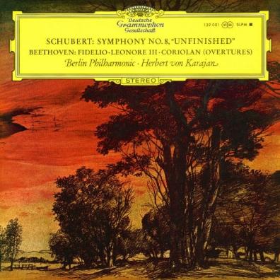 Herbert von Karajan (Герберт фон Караян): Schubert: Symphony No.8; Beethoven: Overtures