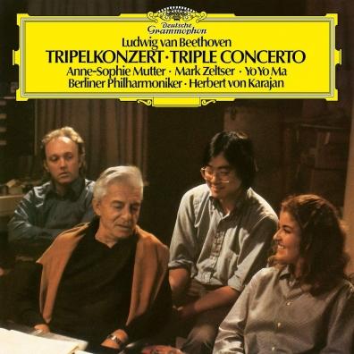 Herbert von Karajan (Герберт фон Караян): Beethoven: Triple Concerto