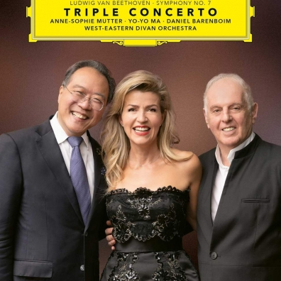 """Anne-Sophie """"Mutter: Beethoven: Triple Concerto & Symphony No. 7"""