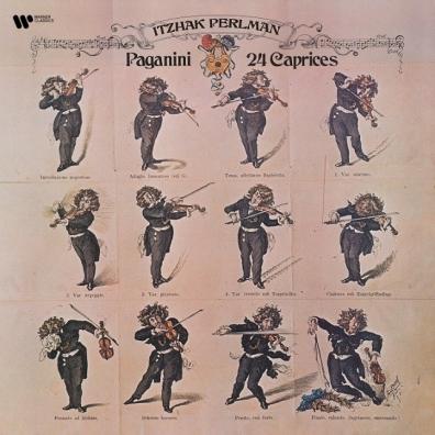 Itzhak Perlman (Ицхак Перлман): Paganini: 24 Caprices