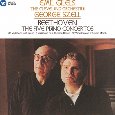 Emil Gilels (Эмиль Гилельс): Beethoven: The 5 Piano Concertos