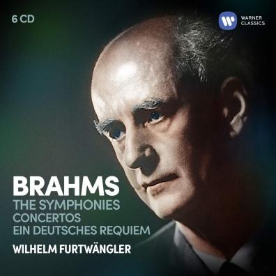 Johanes Brahms (Йоханнес Брамс): The Symphonies, Ein Deutsches Requiem & Concertos