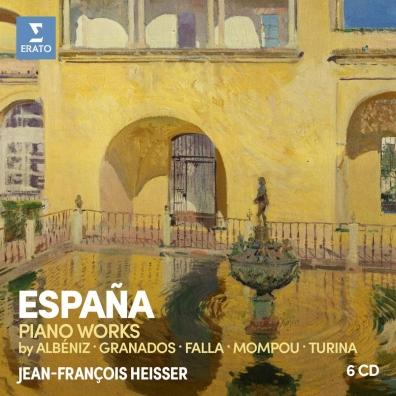 Espana: Albeniz, Falla, Granados, Mompou, Turina