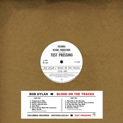 Bob Dylan (Боб Дилан): Blood On The Tracks - Original New York Test Pressing (RSD2019)