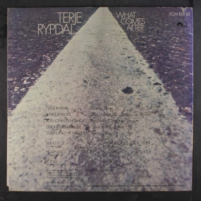 Terje Rypdal: What Comes After