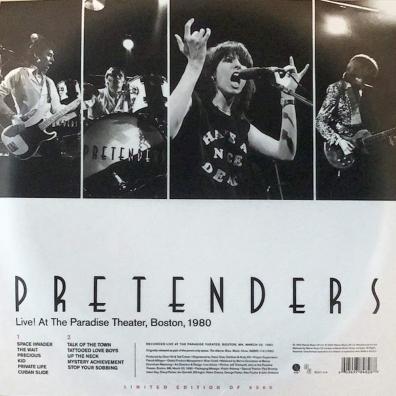 The Pretenders (Зе Претендерс): Live! At The Paradise, Boston, 1980. (RSD2020)