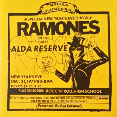Ramones (Рамоунз): Live At The Palladium, New York, Ny (12/31/79) (RSD2019)