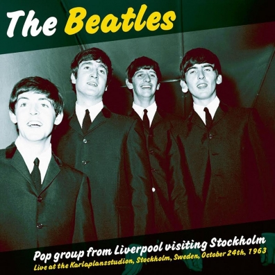The Beatles (Битлз): Pop Group From Liverpool Visiting Stockh