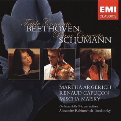 Ludwig Van Beethoven (Людвиг Ван Бетховен): Triple Concerto/Piano Concerto