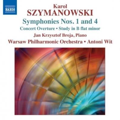 Karol Szymanowski (Кароль Шимановский): Symph. 1+4