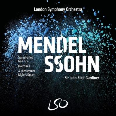 Felix Mendelssohn (Феликс Мендельсон): Mendelssohn: Symphonies 1-5 (4 Sacd+Blu-Ray)