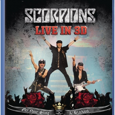 Scorpions (Скорпионс): Get Your Sting And Blackout Live 2011 In 3D