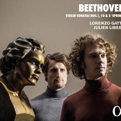 Ludwig Van Beethoven (Людвиг Ван Бетховен): Beethoven: Violin Sonatas 1,10,5