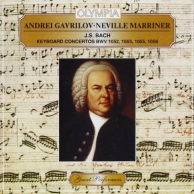 Классика: Gavrilov Marriner Bach Concertos 1052-56