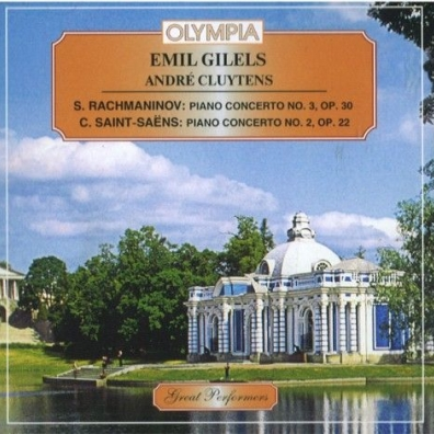Классика: Gilels Rachmaninov S.-Saens Piano C. 3&2