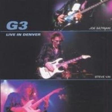 "Steve Vai"" Eric Johnson ""G3: Joe Satriani: Live In Denver"