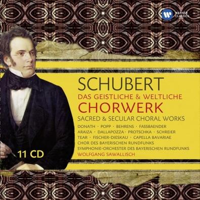 Franc Schubert (Франц Шуберт): Das Geistliche & Weltliche Chorwerk