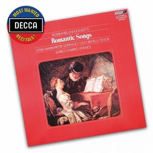 Romantic Songs By Rossini, Bellini, Donizetti