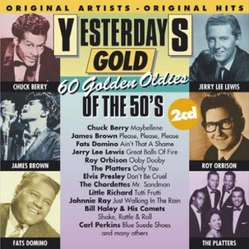 Yesterdays Gold - 60 Golden Oldies Of The 50'S